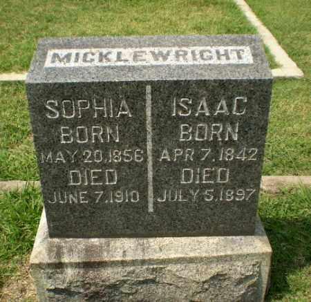 MICKLEWRIGHT, SOPHIA - Craighead County, Arkansas | SOPHIA MICKLEWRIGHT - Arkansas Gravestone Photos