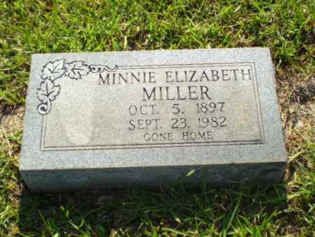 MILLER, MINNIE ELIZABETH - Craighead County, Arkansas | MINNIE ELIZABETH MILLER - Arkansas Gravestone Photos