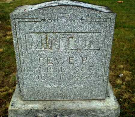 MINTON, REV, EDWARD PRIESTLY - Craighead County, Arkansas | EDWARD PRIESTLY MINTON, REV - Arkansas Gravestone Photos