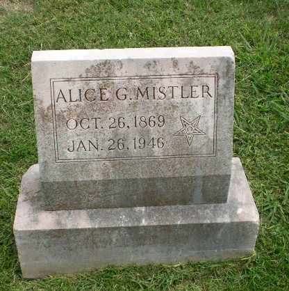 MISTLER, ALICE G - Craighead County, Arkansas | ALICE G MISTLER - Arkansas Gravestone Photos