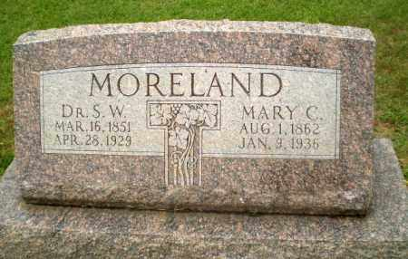 MORELAND, MARY C. - Craighead County, Arkansas | MARY C. MORELAND - Arkansas Gravestone Photos