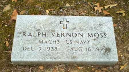 MOSS  (VETERAN), RALPH VERNON - Craighead County, Arkansas | RALPH VERNON MOSS  (VETERAN) - Arkansas Gravestone Photos