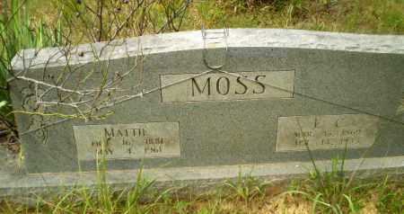 MOSS, MATTIE - Craighead County, Arkansas | MATTIE MOSS - Arkansas Gravestone Photos