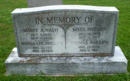 PHILLIPS, MARK - Craighead County, Arkansas | MARK PHILLIPS - Arkansas Gravestone Photos