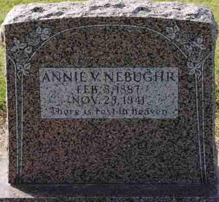 NEBUGHR, ANNIE V - Craighead County, Arkansas | ANNIE V NEBUGHR - Arkansas Gravestone Photos