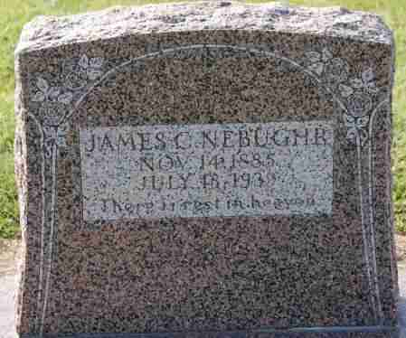 NEBUGHR, JAMES C - Craighead County, Arkansas | JAMES C NEBUGHR - Arkansas Gravestone Photos