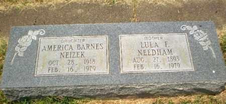 BARNES NEIZEK, AMERICA - Craighead County, Arkansas | AMERICA BARNES NEIZEK - Arkansas Gravestone Photos