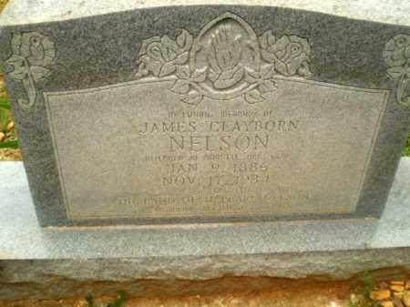 NELSON, JAMES CLAYBORN - Craighead County, Arkansas | JAMES CLAYBORN NELSON - Arkansas Gravestone Photos