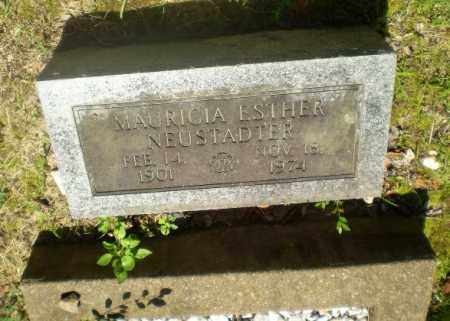 NEUSTAUTER, MAURICIA ESTHER - Craighead County, Arkansas | MAURICIA ESTHER NEUSTAUTER - Arkansas Gravestone Photos