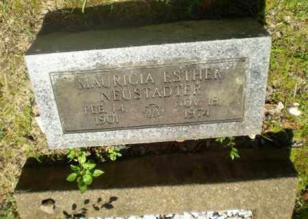 NEUSTAUTER, MAURICIA ESTHER - Craighead County, Arkansas | MAURICIA ESTHER NEUSTAUTER - Arkansas Gravestone Photos