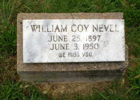 NEVEL, WILLIAM COY - Craighead County, Arkansas | WILLIAM COY NEVEL - Arkansas Gravestone Photos