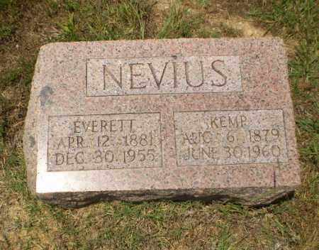 NEVIUS, KEMP - Craighead County, Arkansas | KEMP NEVIUS - Arkansas Gravestone Photos