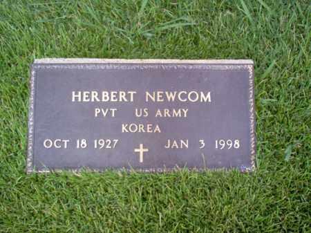 NEWCOM (VETERAN KOR), HERBERT - Craighead County, Arkansas | HERBERT NEWCOM (VETERAN KOR) - Arkansas Gravestone Photos