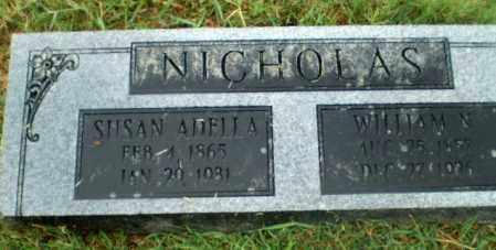 NICHOLAS, SUSAN ADELLA - Craighead County, Arkansas | SUSAN ADELLA NICHOLAS - Arkansas Gravestone Photos