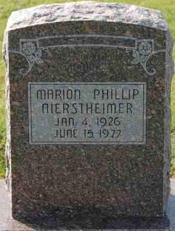 NIERSTHEIMER, MARION PHILLIP - Craighead County, Arkansas | MARION PHILLIP NIERSTHEIMER - Arkansas Gravestone Photos