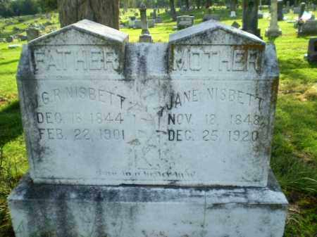 NISBETT, G,R, - Craighead County, Arkansas | G,R, NISBETT - Arkansas Gravestone Photos