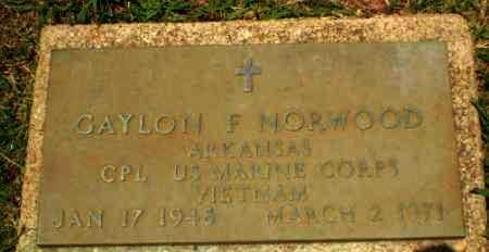 NORWOOD  (VETERAN VIET), GAYLON F - Craighead County, Arkansas | GAYLON F NORWOOD  (VETERAN VIET) - Arkansas Gravestone Photos