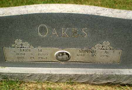 OAKES, LON M - Craighead County, Arkansas | LON M OAKES - Arkansas Gravestone Photos