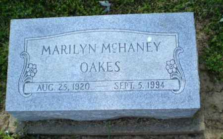 MCHANEY OAKES, MARILYN - Craighead County, Arkansas | MARILYN MCHANEY OAKES - Arkansas Gravestone Photos
