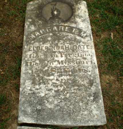 OATE, MARGARET M - Craighead County, Arkansas | MARGARET M OATE - Arkansas Gravestone Photos