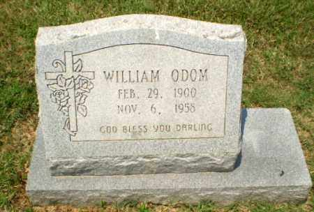 ODOM, WILLIAM - Craighead County, Arkansas | WILLIAM ODOM - Arkansas Gravestone Photos