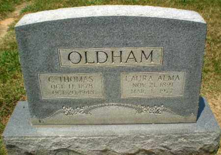 OLDHAM, C.THOMAS - Craighead County, Arkansas | C.THOMAS OLDHAM - Arkansas Gravestone Photos