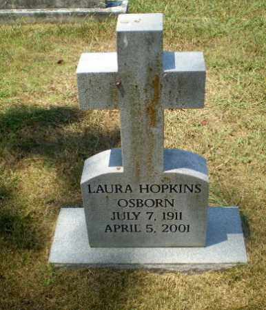 HOPKINS OSBORN, LAURA - Craighead County, Arkansas | LAURA HOPKINS OSBORN - Arkansas Gravestone Photos