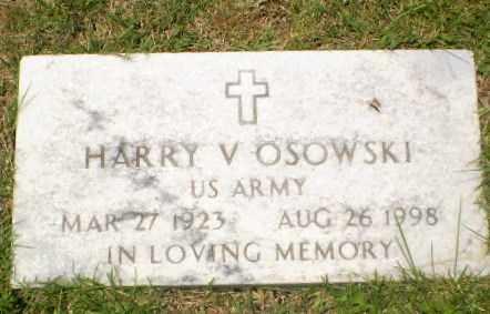OSOWSKI  (VETERAN), HARRY V - Craighead County, Arkansas | HARRY V OSOWSKI  (VETERAN) - Arkansas Gravestone Photos