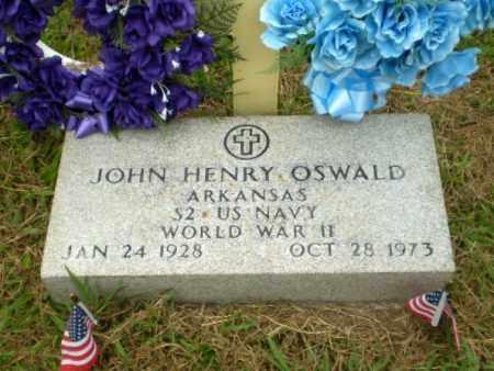 OSWALD  (VETERAN WWII), JOHN HENRY - Craighead County, Arkansas | JOHN HENRY OSWALD  (VETERAN WWII) - Arkansas Gravestone Photos