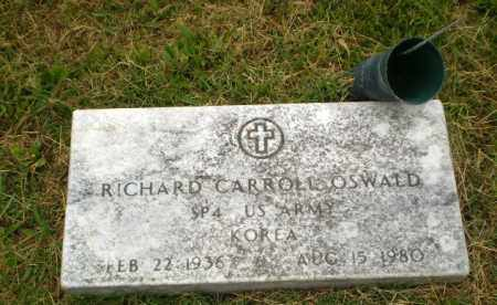 OSWALD (VETERAN KOR), RICHARD CARROLL - Craighead County, Arkansas | RICHARD CARROLL OSWALD (VETERAN KOR) - Arkansas Gravestone Photos