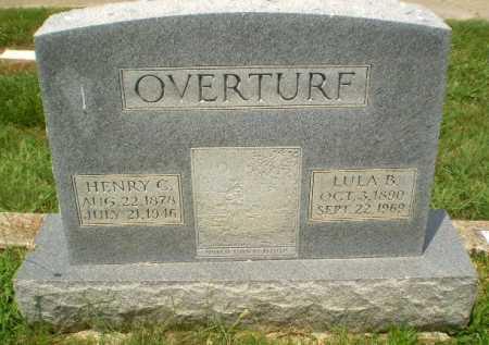 OVERTURF, LULA B - Craighead County, Arkansas | LULA B OVERTURF - Arkansas Gravestone Photos