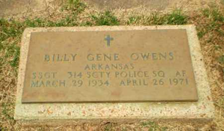 OWENS  (VETERAN), BILLY GENE - Craighead County, Arkansas | BILLY GENE OWENS  (VETERAN) - Arkansas Gravestone Photos