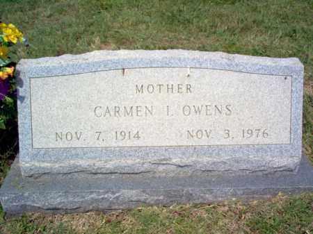 OWENS, CARMEN I - Craighead County, Arkansas | CARMEN I OWENS - Arkansas Gravestone Photos