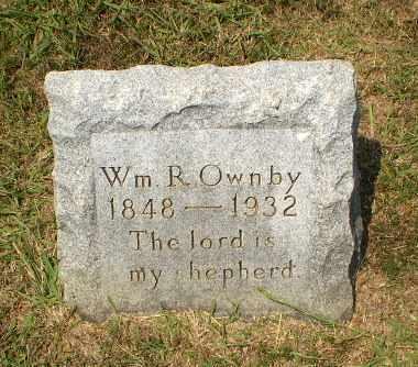 OWNBY, WM. R - Craighead County, Arkansas | WM. R OWNBY - Arkansas Gravestone Photos