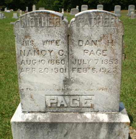 PAGE, DAN H - Craighead County, Arkansas | DAN H PAGE - Arkansas Gravestone Photos