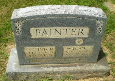 PAINTER, D. CLINTON - Craighead County, Arkansas | D. CLINTON PAINTER - Arkansas Gravestone Photos