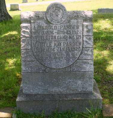 PARDEW, A HAROLD - Craighead County, Arkansas | A HAROLD PARDEW - Arkansas Gravestone Photos