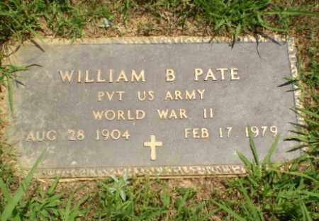 PATE  (VETERAN  WWII), WILLIAM B - Craighead County, Arkansas | WILLIAM B PATE  (VETERAN  WWII) - Arkansas Gravestone Photos
