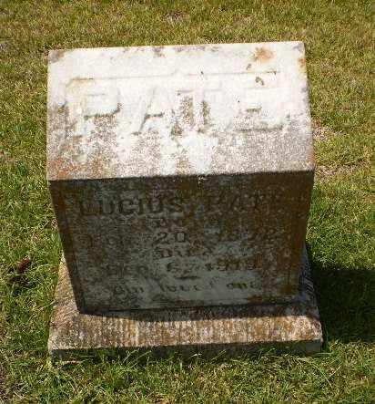 PATE, LUCIUS - Craighead County, Arkansas | LUCIUS PATE - Arkansas Gravestone Photos