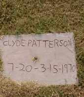 PATTERSON, CLYDE - Craighead County, Arkansas | CLYDE PATTERSON - Arkansas Gravestone Photos