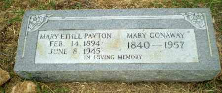 PAYTON, MARY ETHEL - Craighead County, Arkansas | MARY ETHEL PAYTON - Arkansas Gravestone Photos