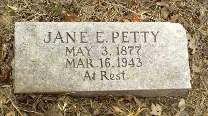 PETTY, JANE E - Craighead County, Arkansas | JANE E PETTY - Arkansas Gravestone Photos
