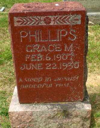 PHILLIPS, GRACE M - Craighead County, Arkansas | GRACE M PHILLIPS - Arkansas Gravestone Photos