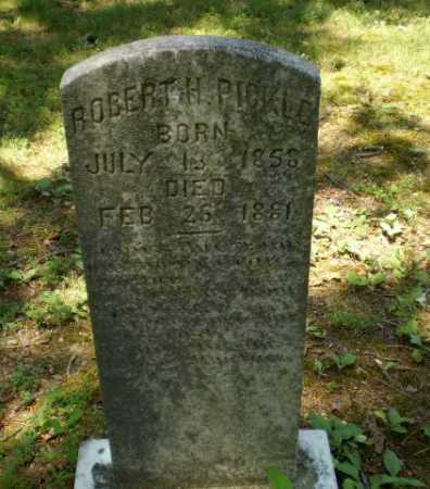 PICKLE, ROBERT H - Craighead County, Arkansas | ROBERT H PICKLE - Arkansas Gravestone Photos