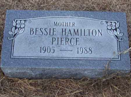 HAMILTON PIERCE, BESSIE HAMILTON - Craighead County, Arkansas | BESSIE HAMILTON HAMILTON PIERCE - Arkansas Gravestone Photos