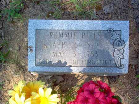 PIPES, ROMMIE - Craighead County, Arkansas | ROMMIE PIPES - Arkansas Gravestone Photos