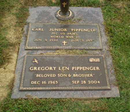 PIPPENGER  (VETERAN WWII), KARL JUNIOR - Craighead County, Arkansas | KARL JUNIOR PIPPENGER  (VETERAN WWII) - Arkansas Gravestone Photos