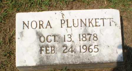 PLUNKETT, NORA - Craighead County, Arkansas | NORA PLUNKETT - Arkansas Gravestone Photos