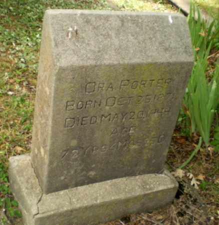 PORTER, ORA - Craighead County, Arkansas | ORA PORTER - Arkansas Gravestone Photos