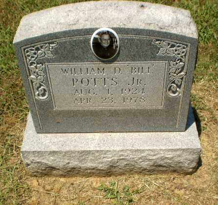 "POTTS, WILLIAM ""BILL"" D - Craighead County, Arkansas 